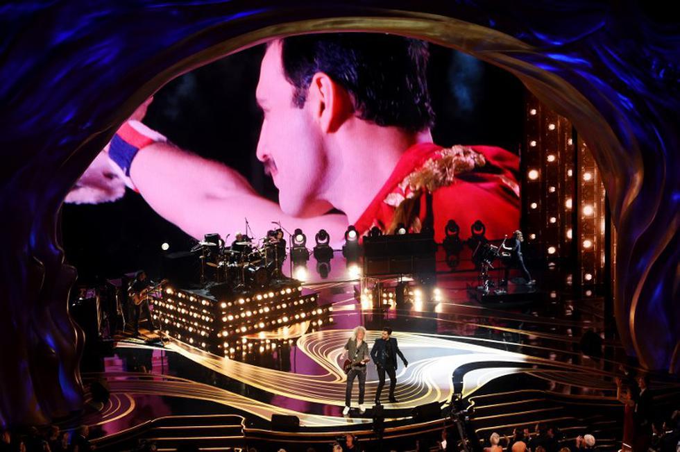 Oscar 2019: La fiesta de Hollywood abrió a lo grande con Queen. (AFP)