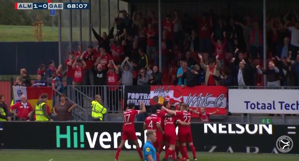 Shayon Harrison anotó el primer gol y causó sensación con sus reflejos. (Foto: Captura Youtube)