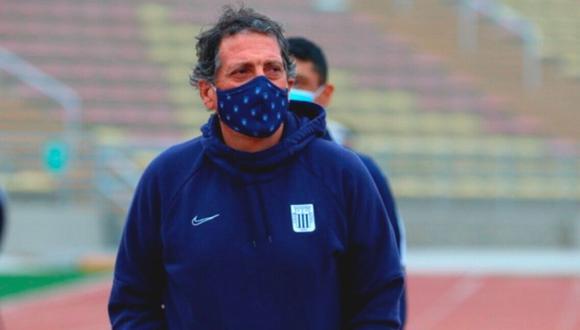 Mario Salas llegó a Alianza Lima en junio de este año. (Foto: Liga 1)