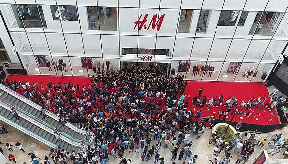 H&M inició operaciones en el mercado peruano en el 2015. (Foto: USI)