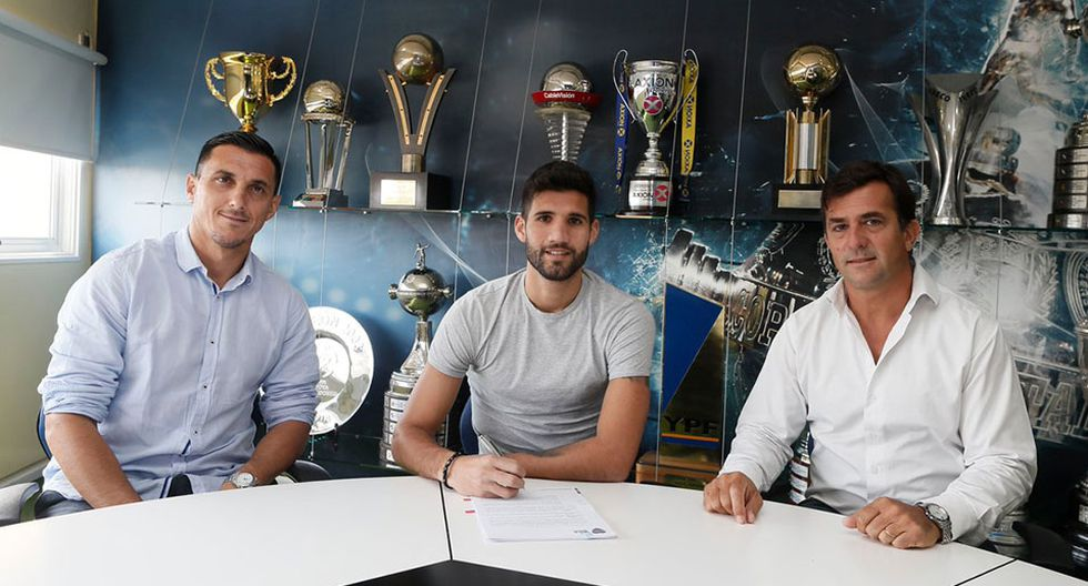Lisandro López se convirtió en nuevo jugador de Boca Juniors. (Foto: Boca Juniors)