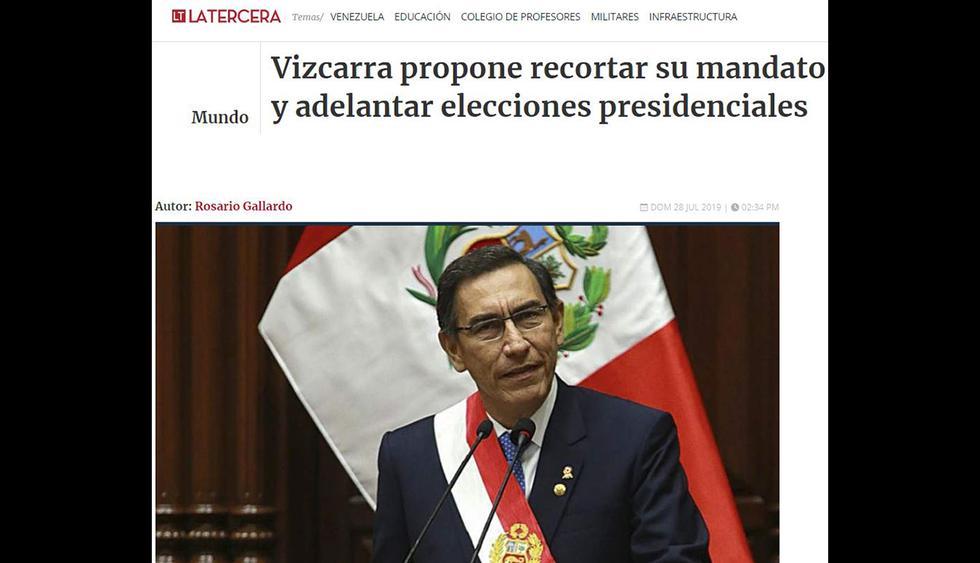 La Tercera de Chile