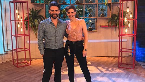 Gigi Mitre comparte fotografía junto a Rodrigo González desde su nuevo set de TV. (Foto: @rodgonzalezl)
