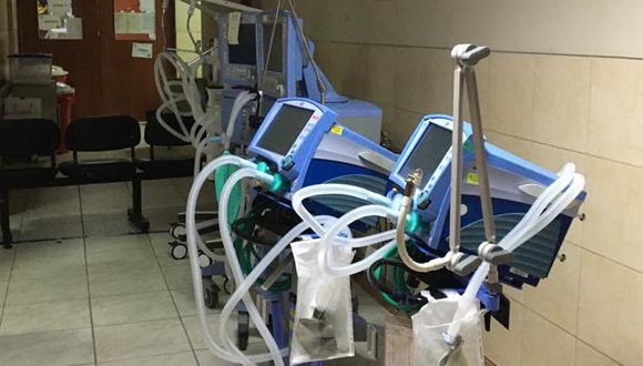 31 ventiladores mecánicos llegaron de China el pasado jueves. (Foto referencial GEC)