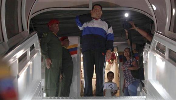 Hugo Chávez antes de partir a Cuba el 10 de diciembre de 2012. (Reuters)
