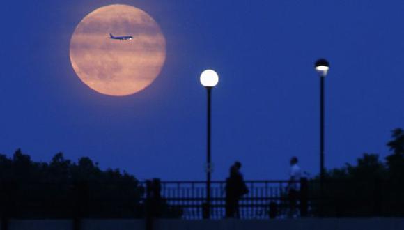 La Luna habría nacido de una colisión. (Reuters)