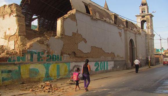 Ica sigue soportando fuertes sismos. (USI)