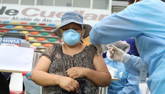 García aseguró que los datos presentados en un programa de televisión local sobre la vacuna de Sinopharm no fue precisa. Fotos Britanie Arroyo / @photo.gec