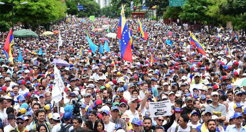 Venezuela: Opositor muere por disparo en protesta. (AFP)