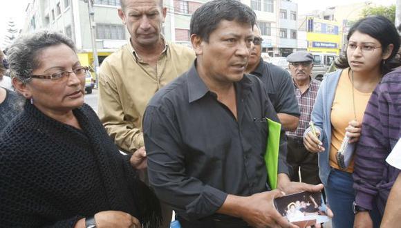 Marco Falla, padre de Gerson, exige justicia. (USI)