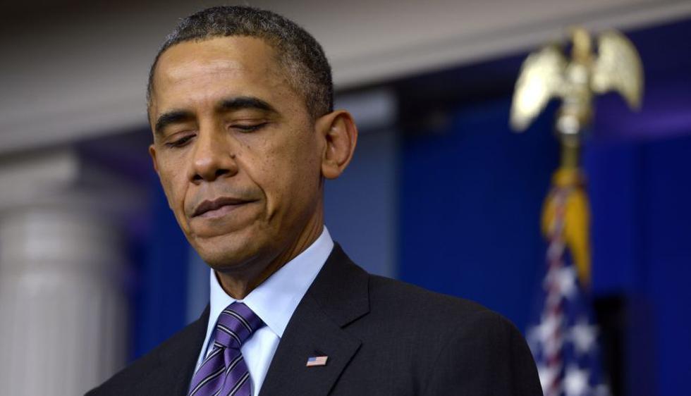 """Barack Obama: """"Como muchos otros en el mundo, no puedo imaginar mi propia vida completa sin el ejemplo que estableció Nelson Mandela, y mientras viva haré lo que pueda para aprender de él"""". (EFE)"""
