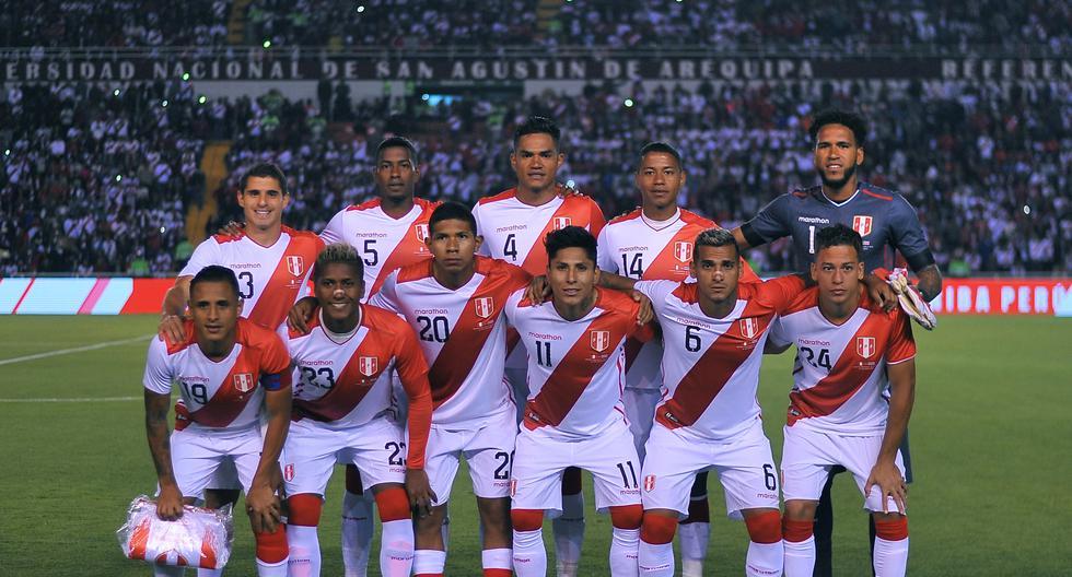 Perú y Costa Rica se enfrentan en partido amistoso FIFA. (AFP)