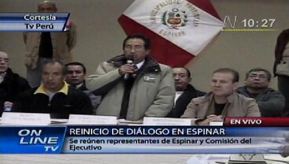 Reunión se da en municipio de la localidad. (Canal N)