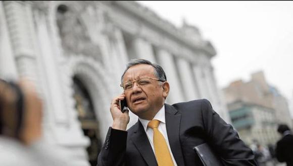 Edgar Alarcón fue denunciado constitucionalmente por la presunta comisión del delito de cohecho pasivo propio cuando se desempeñó como titular de la Contraloría General de la República. (Foto: GEC)