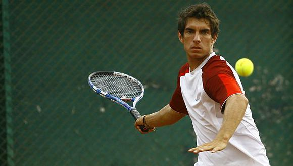 Copa Davis: Mauricio Echazú le dio el primer punto a Perú . (USI)