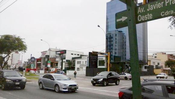 Avenida Javier Prado será ampliada en el tramo entre la Av. Brasil y Av. Salaverry. (Perú21)