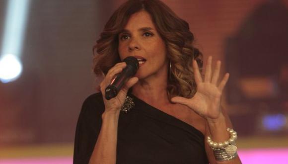 Johanna San Miguel reaparece en la obra 'Mamma Mía'. (Perú 21)
