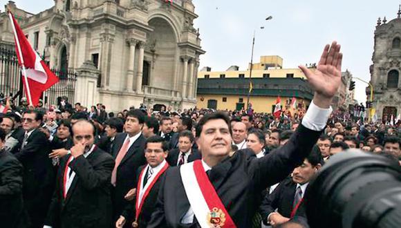 En 2006, un Alan García maduro y distinto volvió a asumir la Presidencia del Perú. Optó por la promoción de la inversión privada y el equilibrio fiscal. (Archivo GEC)