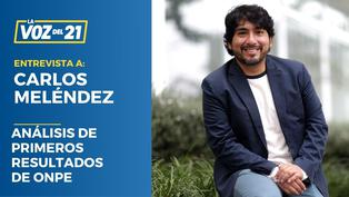 Carlos Meléndez analiza la jornada electoral