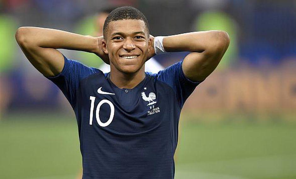 Kylian Mbappé es el nuevo rey del fútbol mundial. (Foto: AFP)