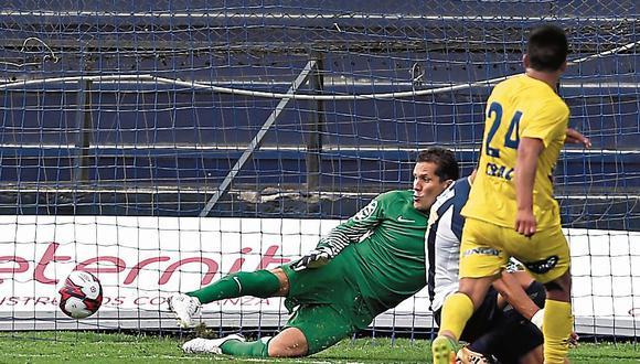 Butrón fue vital para el empate de Alianza Lima. (Fernando Sangama/USI)
