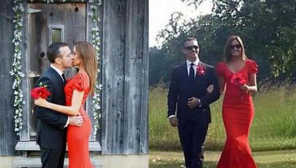 Jéssica Tapia selló su amor en Estados Unidos. (Facebook)