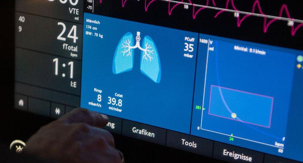 Respiradores artificiales son fundamentales para el tratamiento con pacientes en UCI.