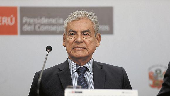 Busca confianza. César Villanueva intentará entablar relación con las fuerzas del Parlamento. (USI)