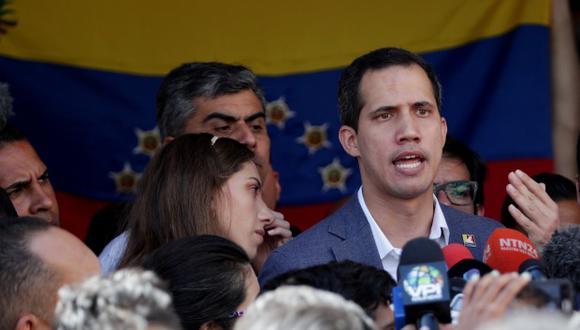 Guaidó se proclamó presidente encargado de Venezuela el pasado 23 de enero y ha sido reconocido por una amplia mayoría de la comunidad internacional, pero no por Italia. (Foto: EFE)