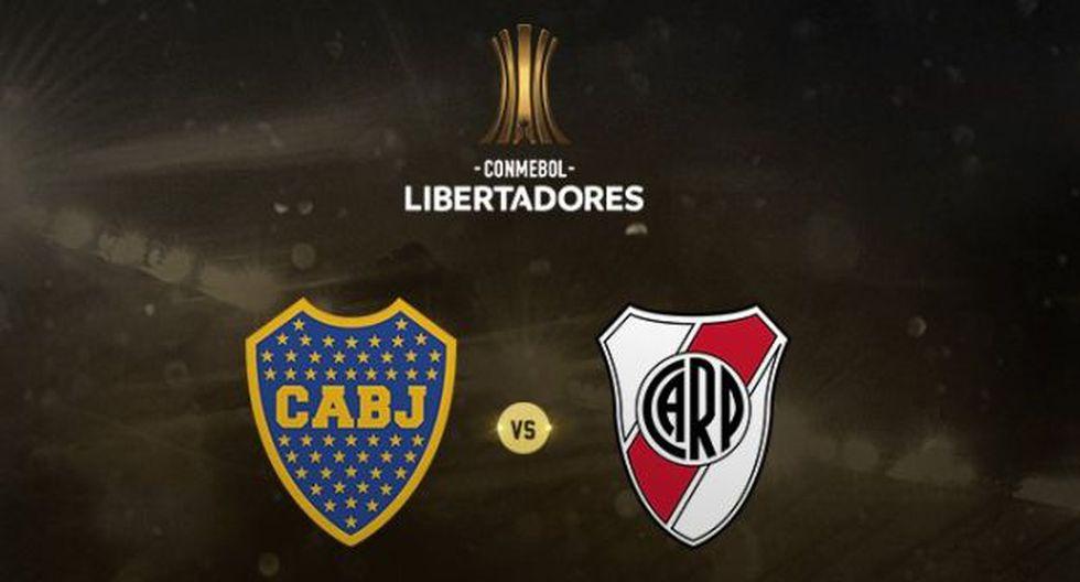 Boca Juniors y River Plate jugará la final de ida de la Copa Libertadores en La Bombonera. (Foto: Conmebol)