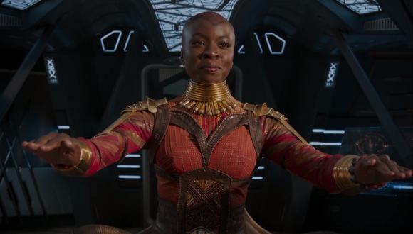 """""""Avengers Endgame"""": Marvel agrega el nombre de Danai Gurira al póster tras reclamos de fans (Foto: Captura de pantalla)"""