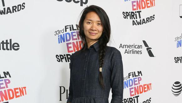 Chloé Zhao ha arrasado con los premios en los Golden Globes y los Critics Choice Awards. (Foto: JEAN-BAPTISTE LACROIX / AFP)