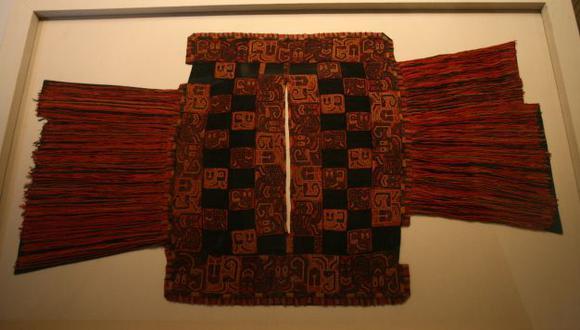 Mantos de la cultura Paracas regresarán al Perú. (USI)
