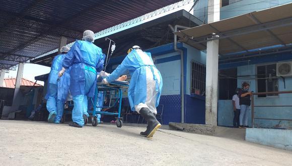 Piura: Hospital de Apoyo II de Sullana no tiene capacidad para recibir a más pacientes (Foto Archivo)