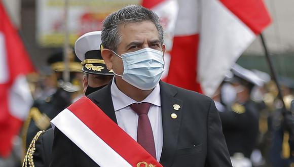 El presidente Manuel Merino señaló que el gabinete viajará por todo el Perú para atender las necesidades de la población. (Foto: AFP)