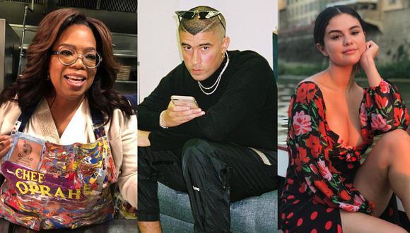 Oprah, Bad Bunny, Selena Gómez y más artistas participarán en ceremonias virtuales de graduación. (Foto: Instagram)