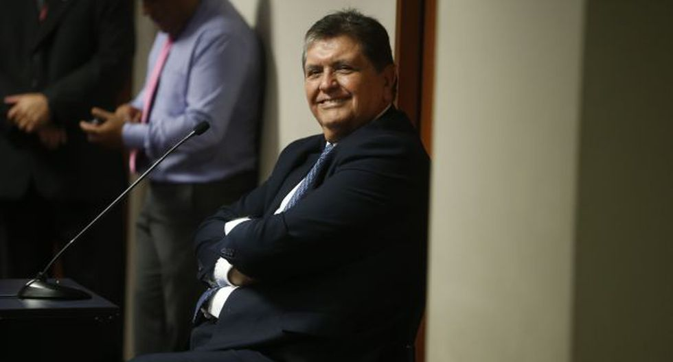 Alan García negó algún vínculo con las presuntas coimas pagadas por Odebrecht en el Metro de Lima. (Perú21)
