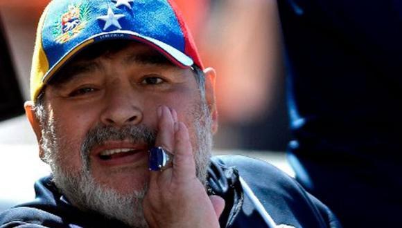 Diego Maradona fue operado de un hematoma subdural en la cabeza hace un par de semanas. (Foto: AFP)