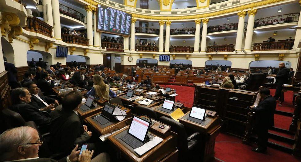 El Parlamento terminará su legislatura ampliada el próximo miércoles 30 de enero. (Foto: Congreso de la República)