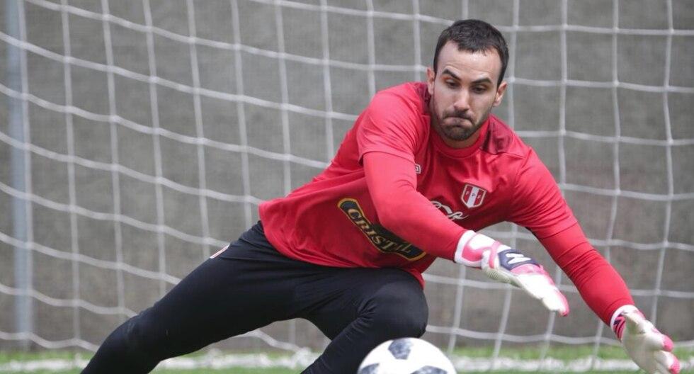 José Carvallo está considerado en la lista de Gareca. (Twitter @SeleccionPeru)