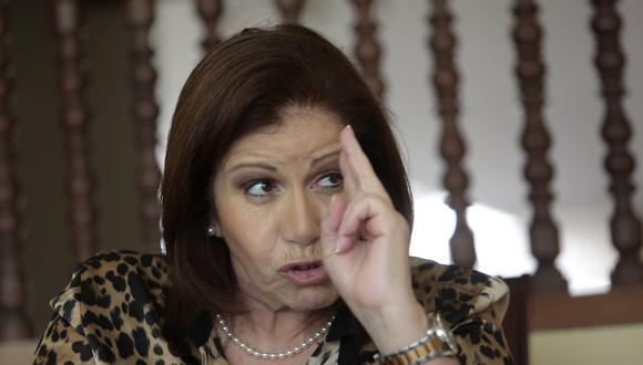 Lourdes Flores Nano (Perú21)