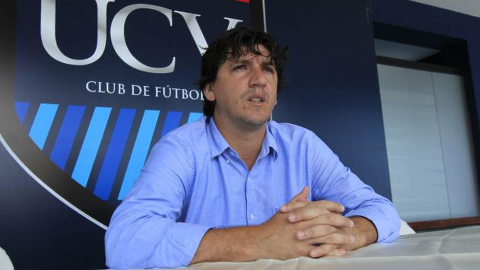 Jean Ferrari, dirigente de César Vallejo, considera a Alianza Lima el enemigo. (Perú21)