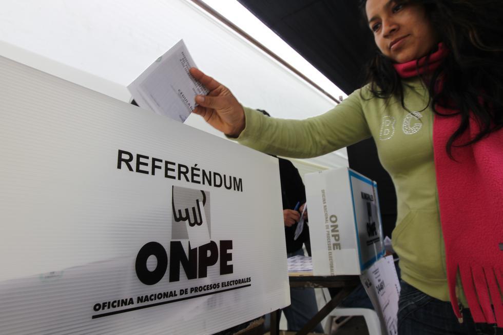 Asociación Civil Transaprencia participará de la observación electoral del referéndum y de la segunda vuelta regional. (Foto: GEC)