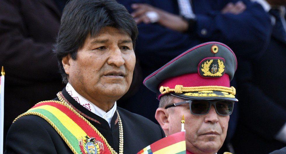 Excomandante militar de Bolivia niega golpe de estado contra Evo Morales. (AFP)