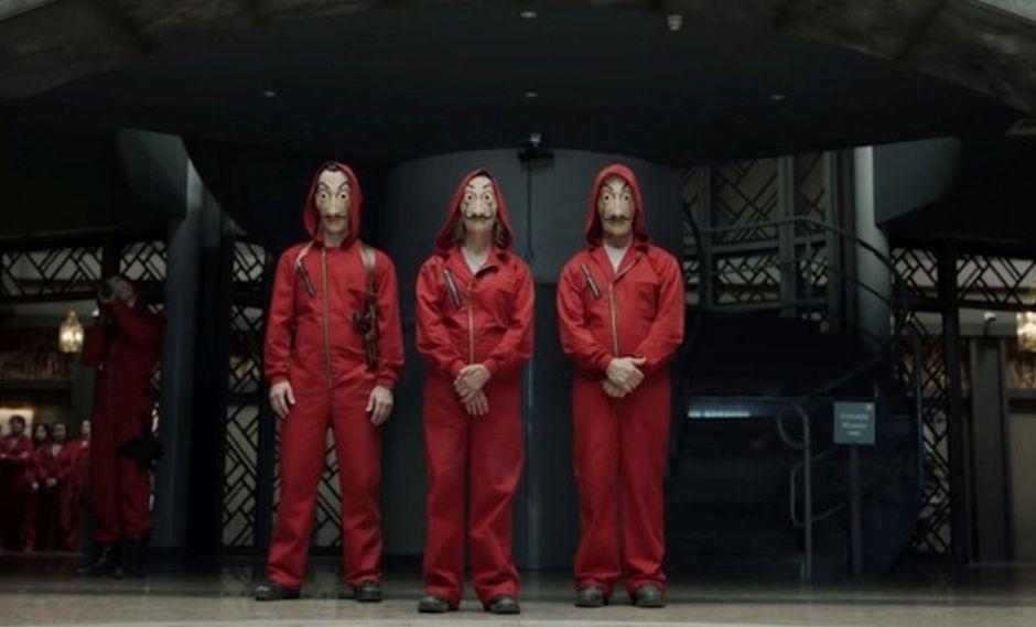"""Los personajes de """"La casa de papel"""" anunciaron el final de las grabaciones de la cuarta temporada y al parecer no habrá una quinta entrega (Foto: Netflix)"""