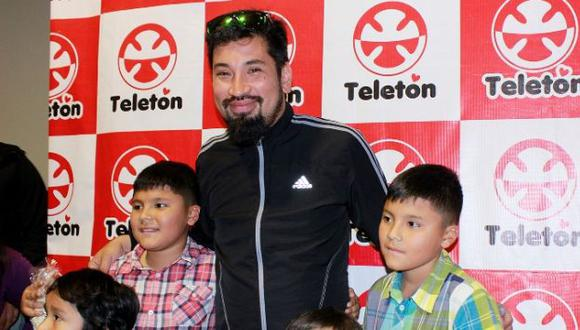 Aldo Miyashiro compartió función exclusiva de 'Calichín' junto a 200 niños de la Teletón. (Difusión)
