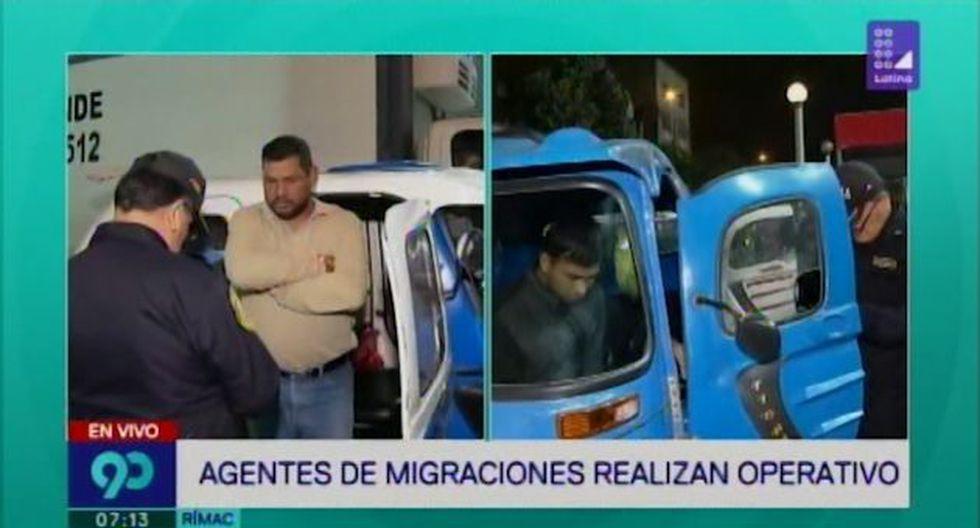 El municipio del Rímac detalló que durante operativo se intervino, a través de un procedimiento de control de identidad, a los choferes de mototaxis. (Latina)