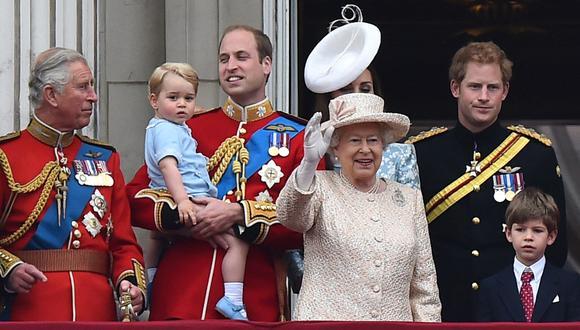 La familia real británica también usa apodos cariñosos. (Foto: AFP)