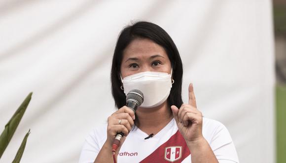 Estos son los cinco temas que plantea Keiko Fujimori para el debate que se realizaría hoy a las 3 pm. (Foto: El Comercio)