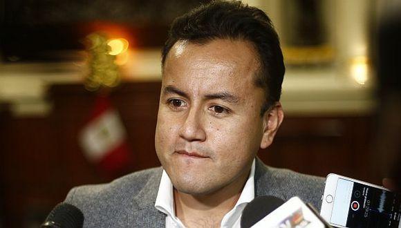 Richard Acuña dijo que confía en que saldrán airosos de este proceso que involucra a su padre desde la campaña electoral. (Renzo Salazar/Perú21)